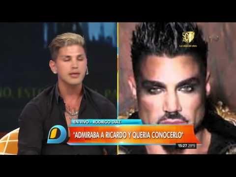 """Rodrigo Díaz, el ex de Ricardo Fort """"Muy poca gente lo quiso de verdad"""""""
