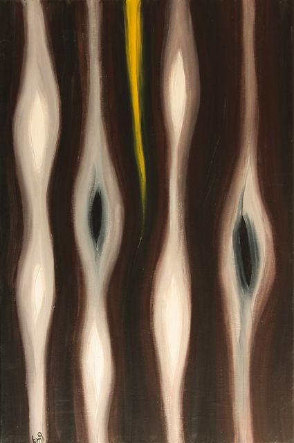 Wood, acrylic on canvas