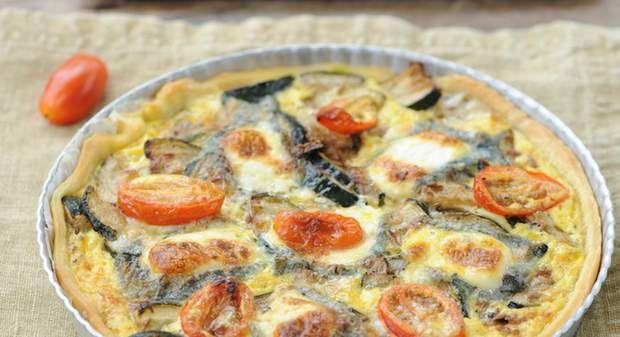 Quiche aux légumes du jardin et fromage de chèvreVoir la recette de la Quiche…