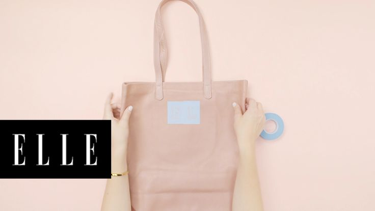 How to Update Your Leather | She's Crafty: DIY Expert Janet Crowther shows us easy ways to update a leather jacket and a leather tote.