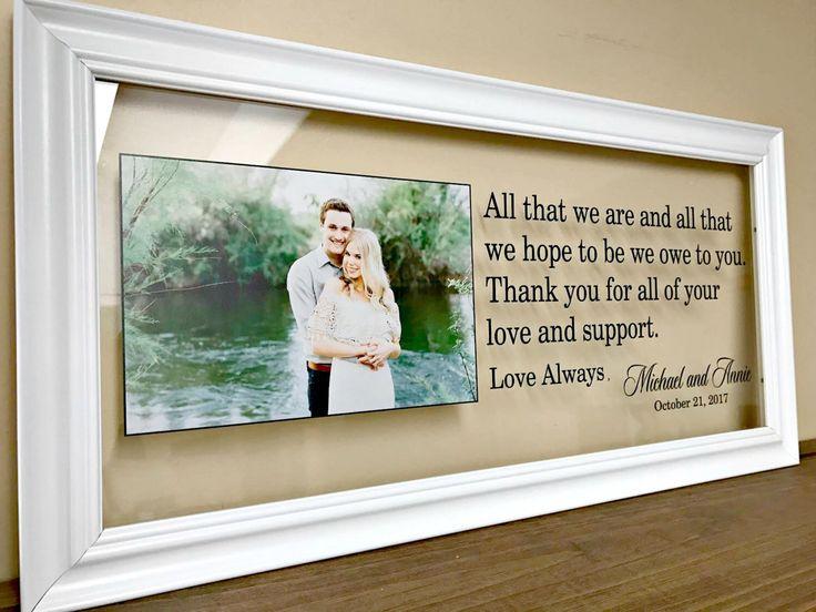 Best 25+ Parent Wedding Gifts Ideas On Pinterest