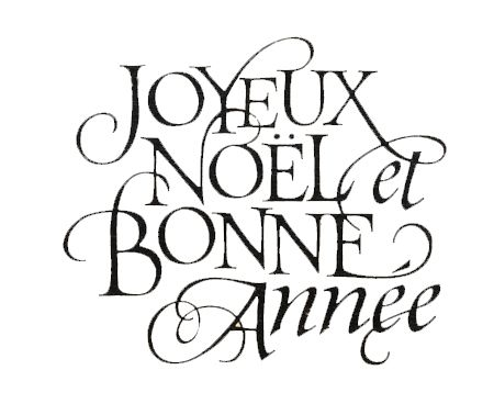 joyeux noel et bonne annee merry christmas and happy new year from in fashion
