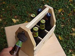 Rustic 6-Pack Carrier