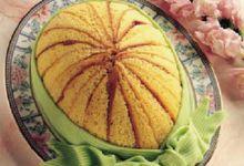 Zuccotto Uovo di Pasqua, tipico dolce della tradizione culinaria fiorentina.