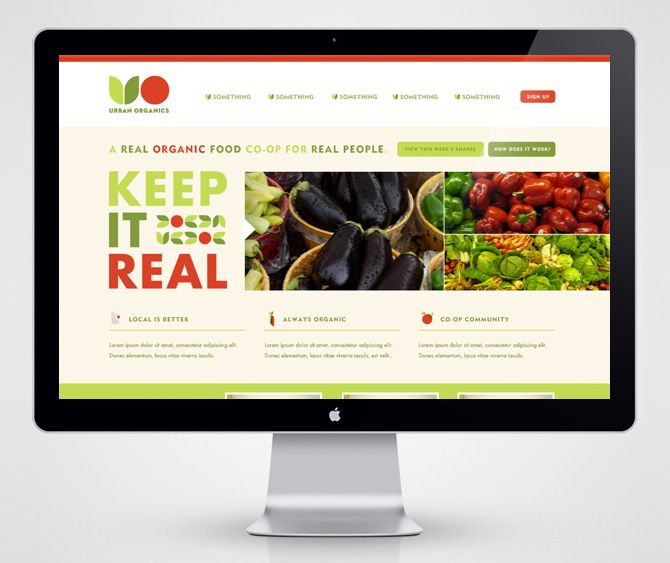 Urban Organics Website | Foundry Collective