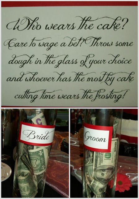 the jar with the most money in it determines the one who will get the cake in the face