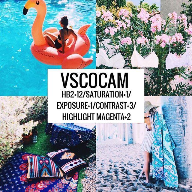 Vscocam Filter- Hb2+12/Saturation+1/Exposure+1/Contrast+3/Highlight Magenta+2 Summer filter #vsco#vscocam#vscofilter
