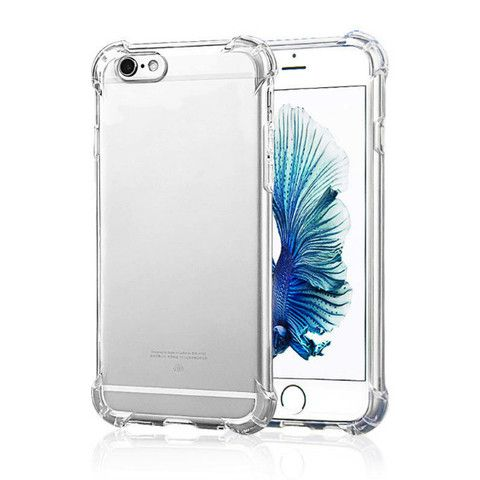 """New Air Cushion Technology Anti Knock Clear Crystal TPU & PC Soft Rubber Cover Case for Iphone 6 6S 4.7""""/ 6S Plus 5.5"""" Full Protection Shell phone Cases For iPhone 5s"""
