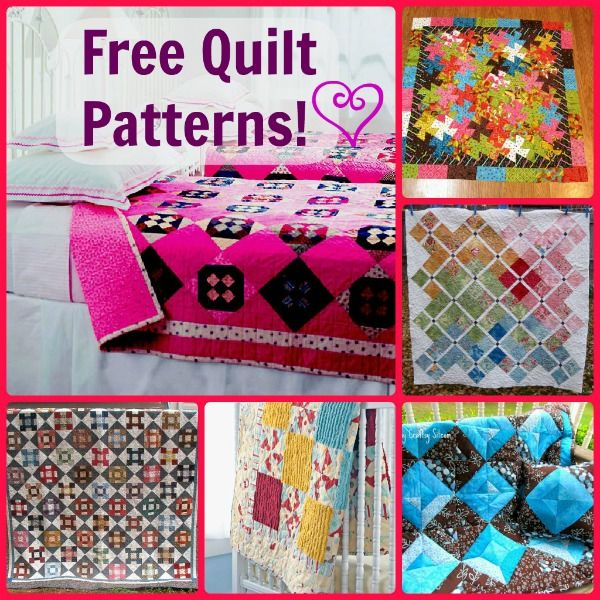 free quilt patterns for all skill levels #quilting #patterns