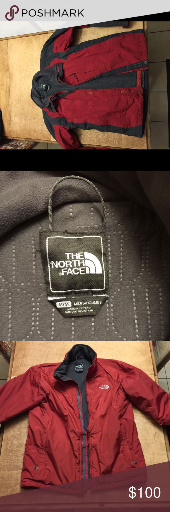 Men's medium North Face winter coat Hardly used! Fleece liner that you can take out! Great coat! The North Face Jackets & Coats Ski & Snowboard