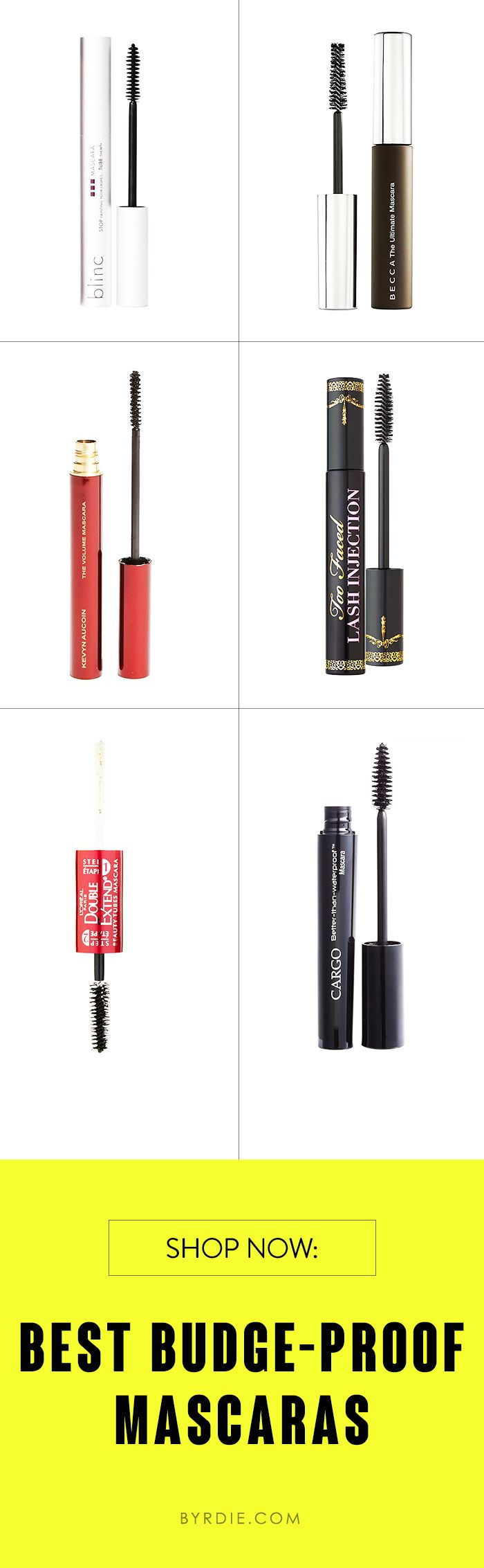 6 easy-to-remove tubing mascaras to know about now (via @byrdiebeauty) // #mascara #eyes