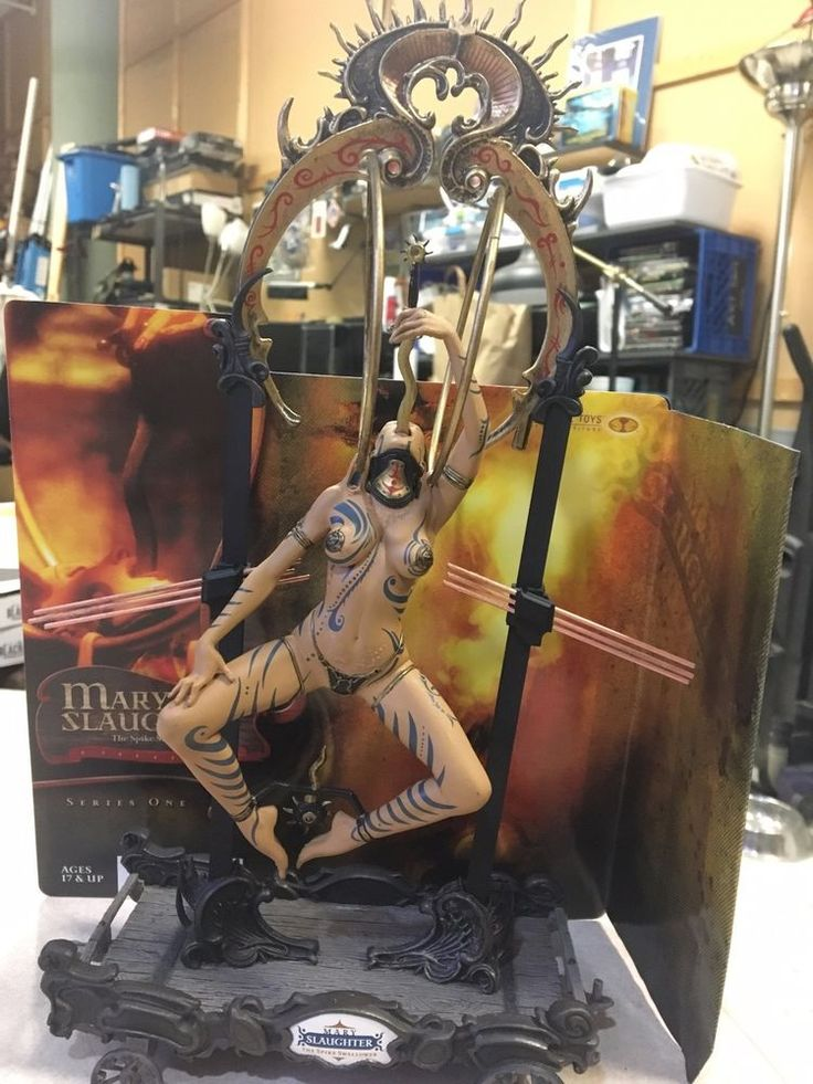 Clive Barker's-The Infernal Parade-Mary Slaughter-McFarlane Toys Action Figure #McFarlaneToys