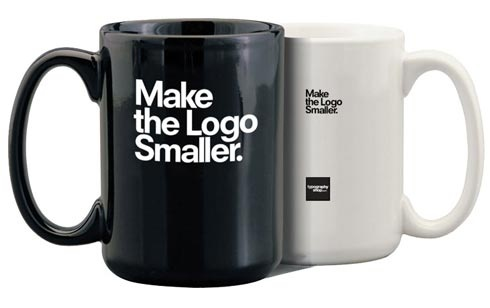 Make the logo smaller :D