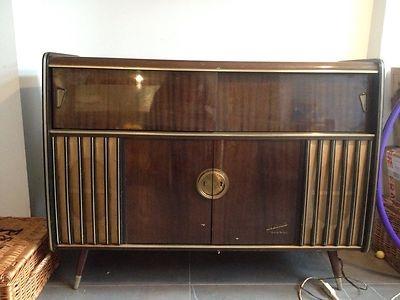 Vintage Retro Blaupunkt Arkansas Deluxe Stereo Record
