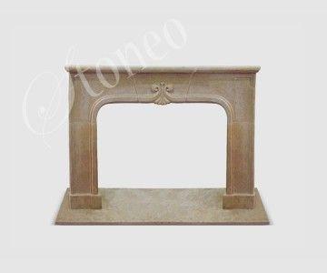 Ceremonial - Kominek klasyczny, marmur Egypt Beige