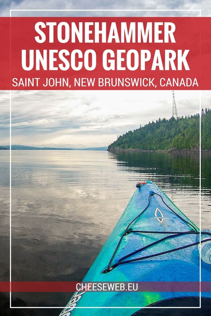 We take a kayak tour of Dominion Park, part of the Stonehammer Geopark in Saint John, New Brunswick, Canada, to see stromatolites, with Go Fundy Events.