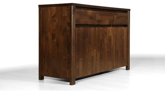 volo sideboard v115 3s3d buche massiv wenge kolonial. Black Bedroom Furniture Sets. Home Design Ideas