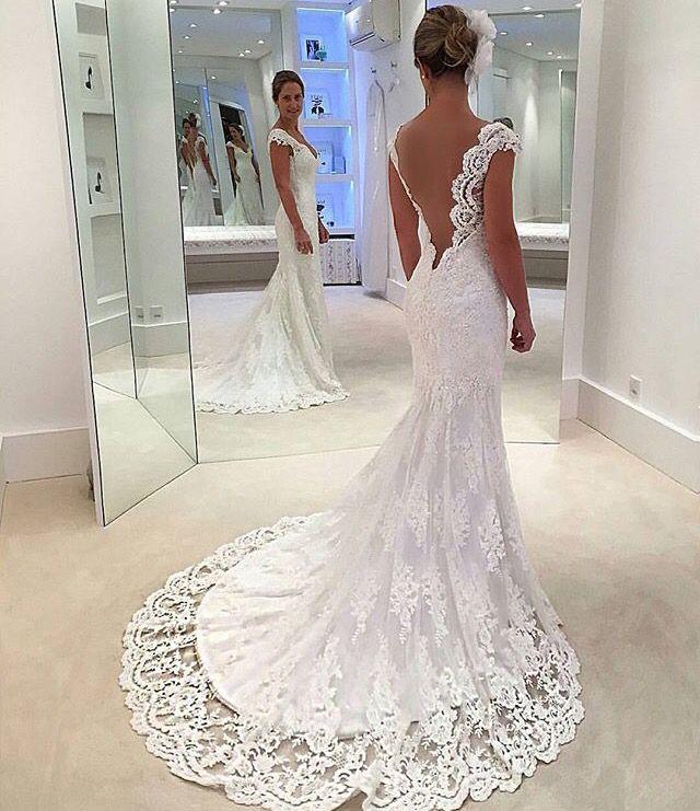 Lase wedding dress
