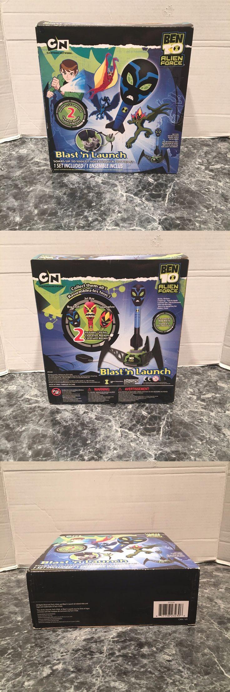 Ben 10 152906: Ben 10 Alien Force Cartoon Network Blast N Launch Character Rockets Nib -> BUY IT NOW ONLY: $99.99 on eBay!