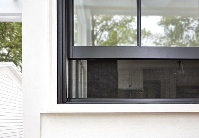 New Pella Integrated Rolscreen Retractable Window Screen Retractable Window Screens Window Screens Windows