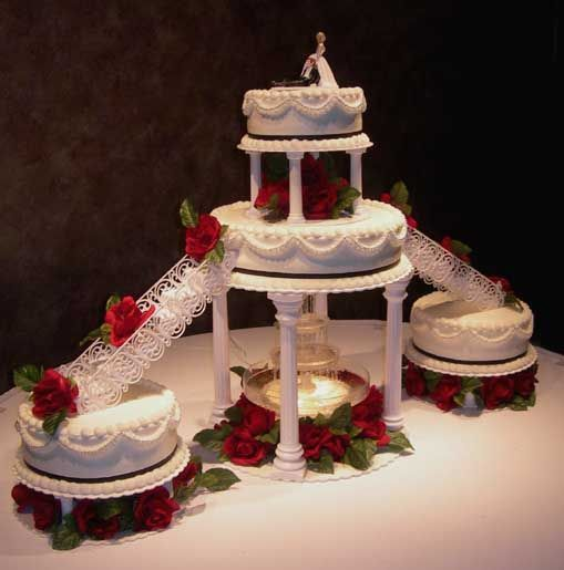 16 Elegant Traditional Staircase Designs That Will Amaze You: Best 25+ Fountain Wedding Cakes Ideas On Pinterest