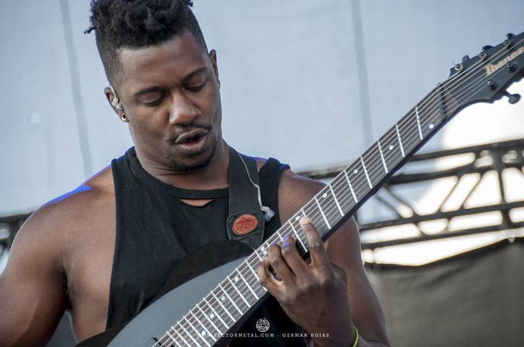 Tosin Abasi Animals As Leaders #knotfest #knotfest2016 #livemusic PH. @bergslay #FactorMetal