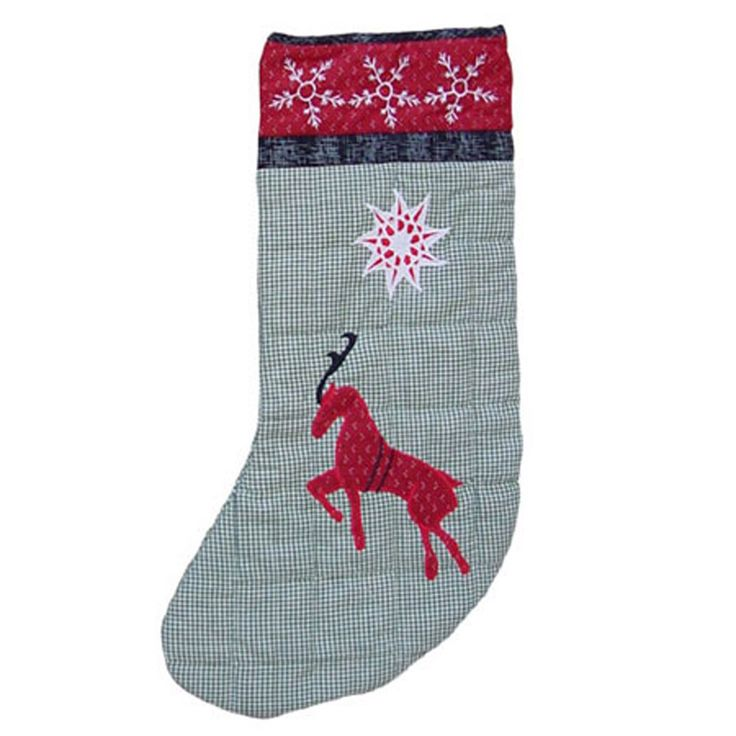 Northpole Fish Tales Reindeer Stocking