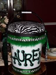 Cheer bucket #Cake
