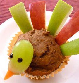 Muffins para Acción de Gracias | Recetas para niños