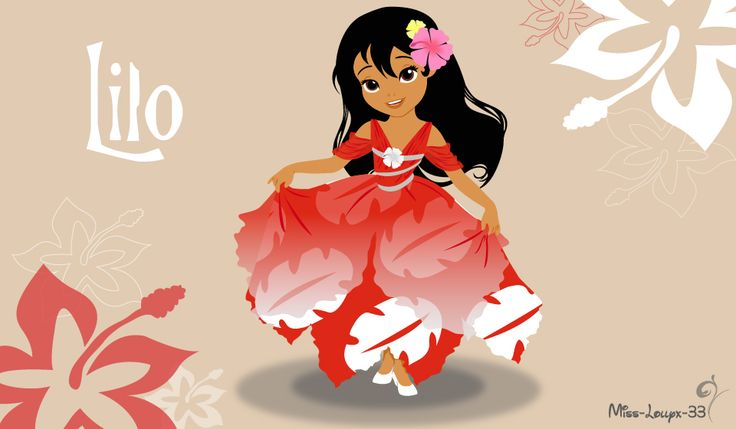 No-Disney Young Princess ~ Lilo by miss-lollyx-33.deviantart.com on @DeviantArt