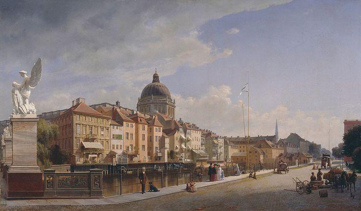 Johann Philipp Eduard Gaertner (2 June 1801, Berlin - 22 February 1877, Flecken Zechlin, in Rheinsberg) was a German painter who specialized in depictions of urban architecture