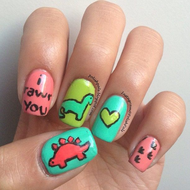 Animal Nail Art: 64 Best Dino Craft Images On Pinterest