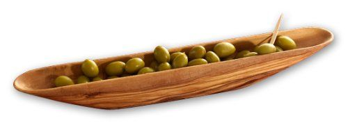 Berard 90170 French Olive-Wood Handcrafted Olive Boat