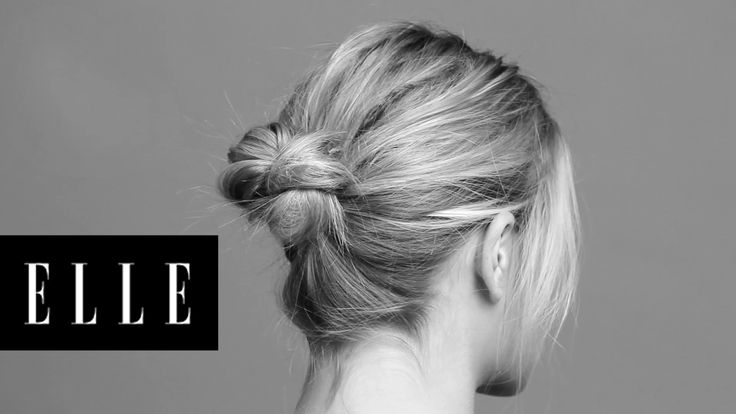 Simple Trick for a Chic Twisted Bun: Jen Atkin shows us how to achieve the perfect model-off-duty bun.