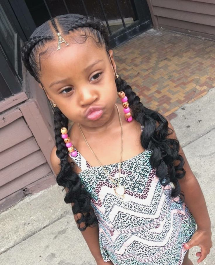 We searched around and found some super cute braided hairstyles for Black girls….