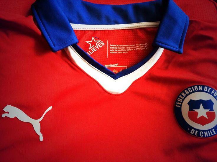 camiseta seleccion chilena 2014 - Buscar con Google