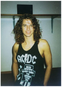 Michael Hutchence, as a real fresh face there !! Gone from this realm way too soon, my sweet :( !!! RIP 4EVA ... Luv eternally yours, JT <3