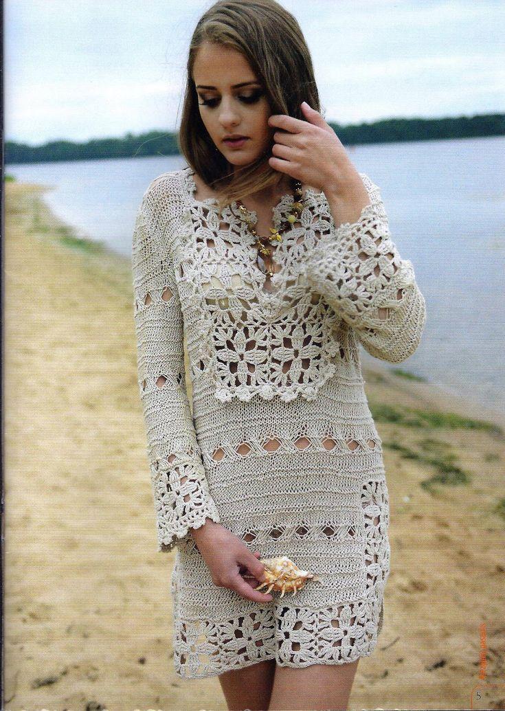 Vestido com fio de linho. Discussão sobre LiveInternet - Serviço russo diários online