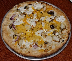 ... chicken with roasted rosemary potatoes, fresh mozzarella, cheddar