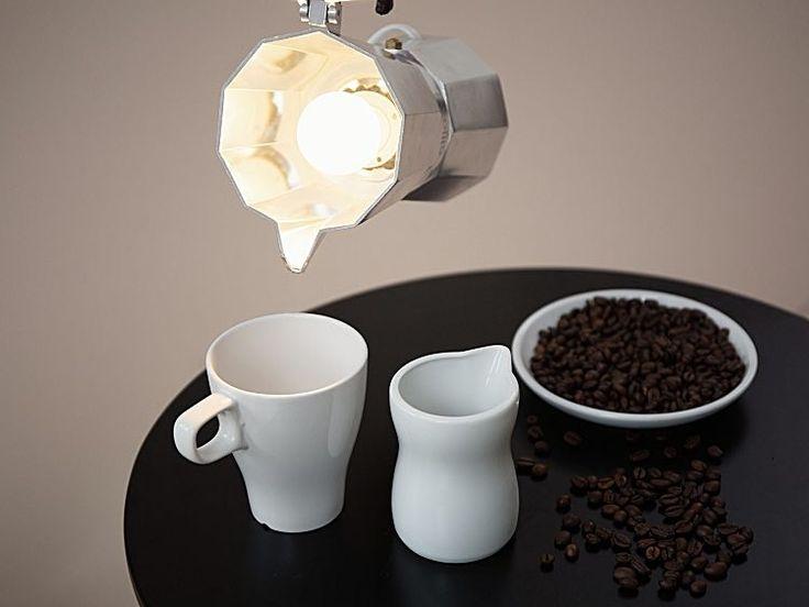 DIY-Anleitung: Lampe aus Espressokanne selber bauen via DaWanda.com