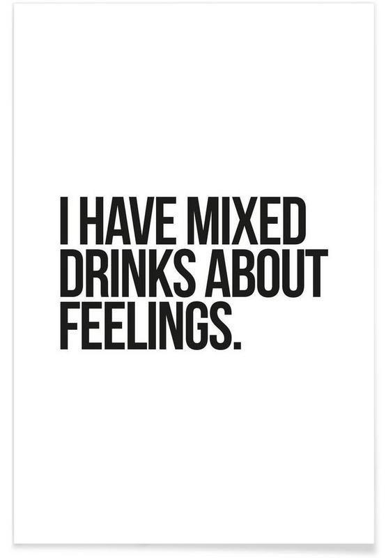 Mixed Drinks als Premium Poster von JUNIQE | JUNIQE