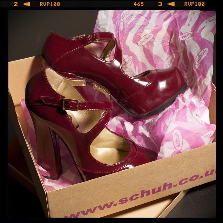Love these block heels...