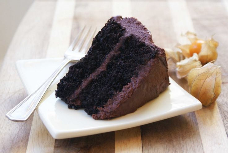 Quinoa Chocolate Cake by babble. Recipe from'Quinoa 365: the Everyday Superfood' Written by Patricia Green and Carolyn Hemming #Cake #Chocolate #GF #Quinoa