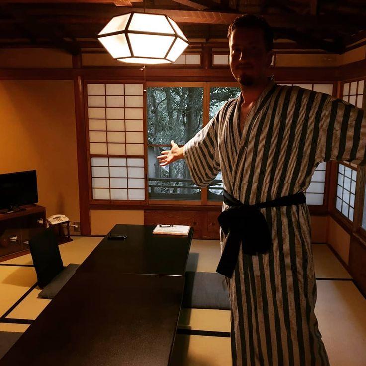 Eine nacht im Ryokan mit Onsen… Eine traditionel…