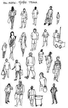 watercolor sketching people - Google Search