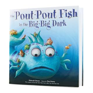 Pout pout fish big big and fish on pinterest for Pout pout fish books