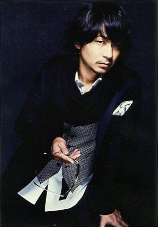 Ken (L'Arc~en~Ciel) in WHAT's IN? (Japan music magazine) 2013. J-rock.