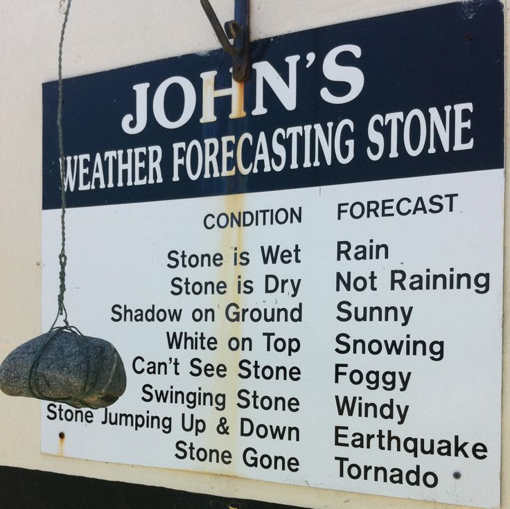 Old Bmw: John's Weather Forecasting LOL