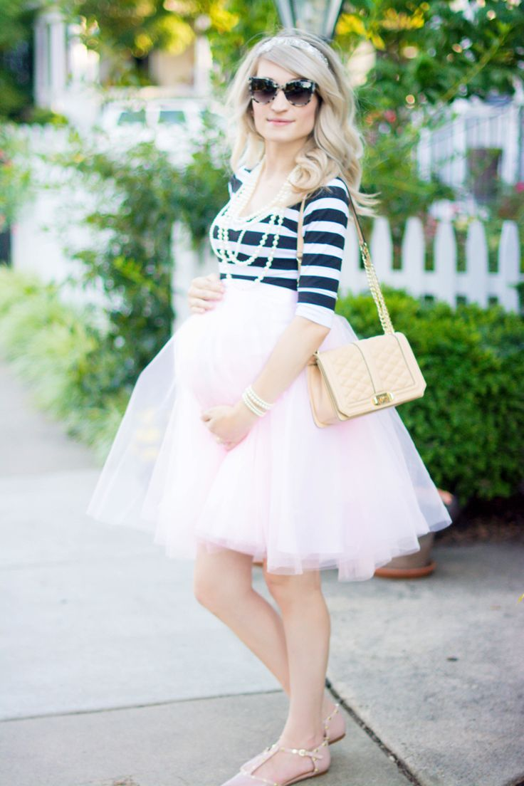 Maternity Tulle Skirt Space 46 Pink Tulle Bump Style