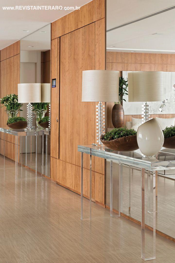 Hall idealizado by Débora Aguiar | HobbyDecor | Inspirações em decor | #dedign #arquitetura #decor